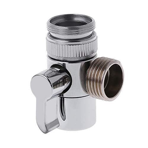 Ants-Store - 2018 Bathroom Kitchen Brass Sink Valve Diverter Faucet Splitter to Hose Adapter M22 X M24