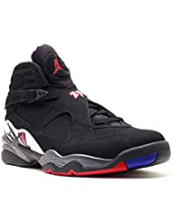 Jordan Mens 8 Retro Black Concord Red 305381-061