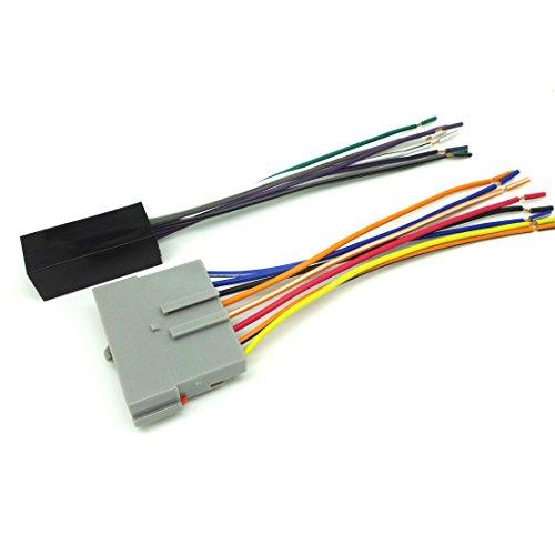 ConPus Premium Sound CAR Stereo CD Player Wiring Harness Wire AFTERMARKET Radio Install 1990-1991 Ford LTD Crown Victoria w Premium SK5511-11 Ad263