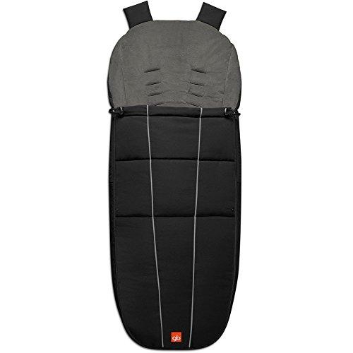 GB Footmuff BLACK for gb strollers Qbit, Qbit Plus, Maris, Biris, Beli