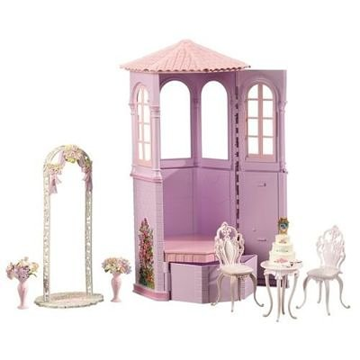 Mattel 2006 Barbie Princess Rapunzel's Wedding Playset