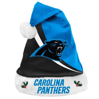 Panthers Santa Hat (NFL Swoop Logo Santa Hat NFL Team: Carolina Panthers)