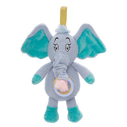- Manhattan Toy Dr. Seuss Horton Pull Musical Travel Toy & Teether