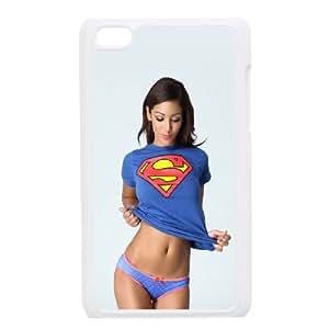 Celebrities Melanie Iglesias iPod Touch 4 Case White Pretty Present zhm004_5013837