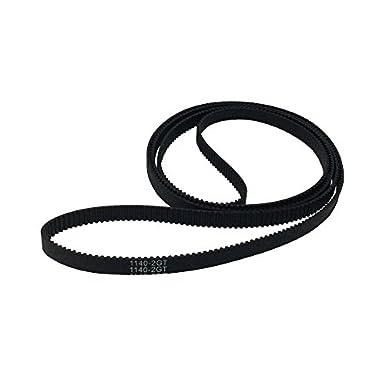 S2M 6mm Width 860mm 86cm Ring Round Closing Loop Timing Belt for 3D Printer