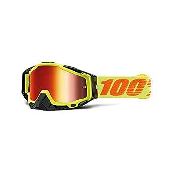 Inconnu 100% Racecraft Maske-MTB Unisex Erwachsene, Grün