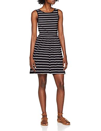 S JRS Multicolore ONLY Night Femme Stripes Robe Cloud L Sky Dancer Dress NOS Stripes Onlniella afq1XE