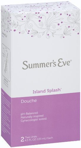 - Summer's Eve Douche, Island Splash, 2 - 4.5 fl oz (133 ml) units - Buy Packs and SAVE (Pack of 4)