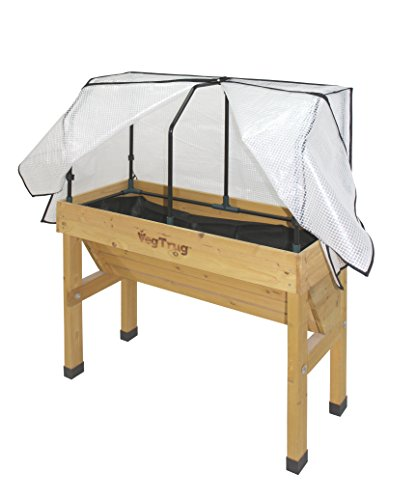 Vegtrug SGFPE 1136 USA Small Greenhouse Frame and PE Cover by Veg Trug
