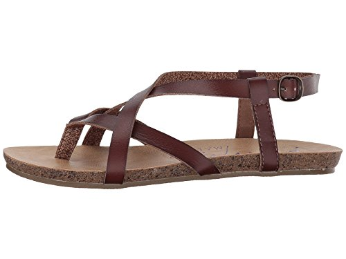 Sandalen b Rose Blowfish Gold Granola Damen Pu Whiskey Dyecut Uxqww7Zt