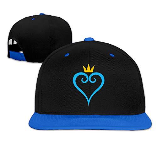 Grioma Deoij Kingdom Hearts Baseball Cap Hip Hop Adjustable Snapback Hats Unisex Blue (Kingdom Hearts Hat)
