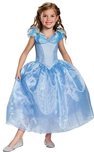 Movie Wig Child Cinderella (UHC Princess Cinderella Movie Classic Outfit Toddler Child Halloween Costume, Toddler M)