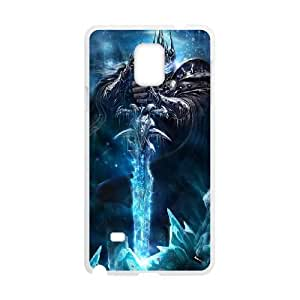 The Lich King Samsung Galaxy Note 4 Cell Phone Case White Delicate gift JIS_392938