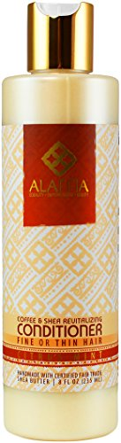 Alaffia - Shea Butter & Coffee Revitalizing Conditioner, 8 Ounces