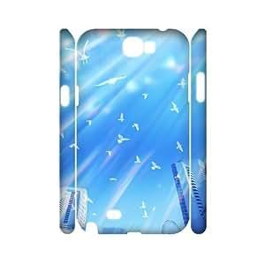 C-Y-F-CASE DIY Design Pigeon Pattern Phone Case For Samsung Galaxy Note 2 N7100