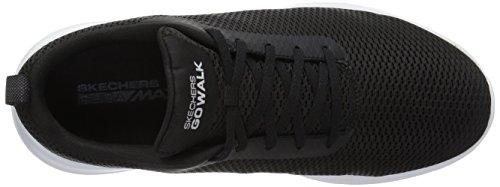 Skechers Performance Herren Go Walk Max-54601 Wide Sneaker Schwarz-Weiss