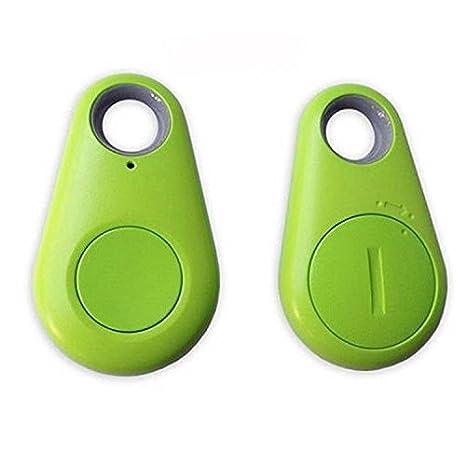 Blue Acecoree New Smart Bluetooth Tracer GPS Locator Tag Alarm Wallet Key Pet Dog Tracker
