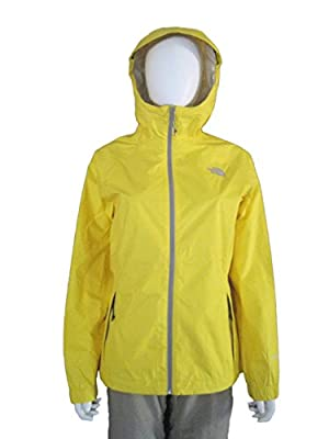 The North Face Women's Gail Rain Jacket Waterproof, Lighting Yellow