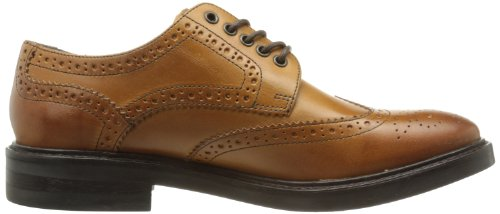 Base London Mens Woburn Scarpe In Pelle Marrone Chiaro 41 Eu