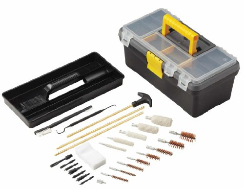(OUTERS 28 Piece 99750 Toolbox Gun Cleaning Kit Strong/Solid Brass Rods)