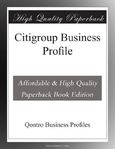 citigroup-business-profile
