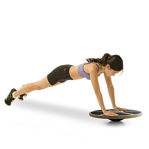Balance Board Core Trainer Made Of Wood Increase Stability, Strength and Flexibility Ballet and Dance trainer