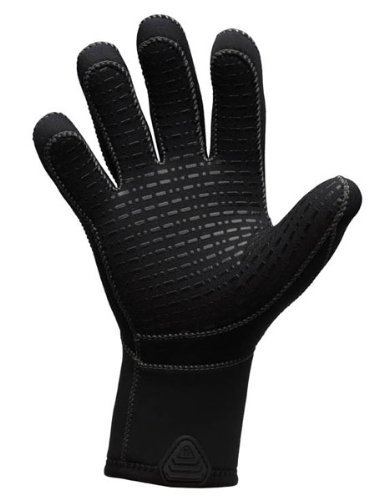 (Waterproof G1 5mm 5-Finger Gloves, Large)