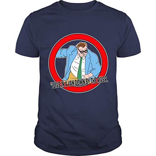 Farley Foley T Shirt Funny Farley Foley SNL Motivational T-Shirt (Unisex T-Shirt;Navy;L)