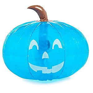 """SCS Direct Inflatable 15"""" Halloween Teal Pumpkin - Official Teal Pumpkin Project Allergy-Friendly Trick or Treat Decor - All Sales Supports F.A.R.E."""