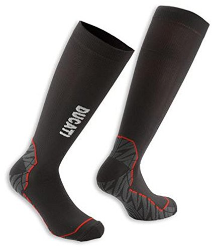 Ducati Technical Compression Socks Tour Black Size 39-42 US 7-9