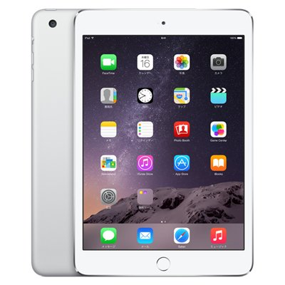 Apple docomo iPad mini3 Wi-Fi Cellular (MGJ12J/A) 64GB シルバーの商品画像