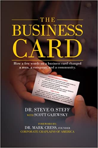 The business card dr steve o steff 9780985776107 amazon books colourmoves