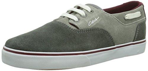 C1RCA CVALEOBLRT Unisex-Erwachsene Sneaker Grau (Grox/ Gray Oxblood)