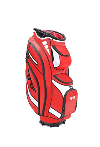 Eagole Super Lite 14 Way Top Golf Cart Bag Red