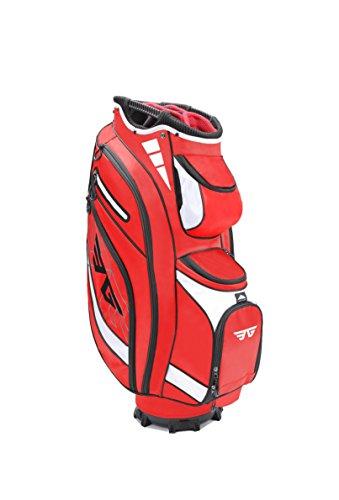 Eagole Super Lite 14 Way Top Golf Cart Bag Red