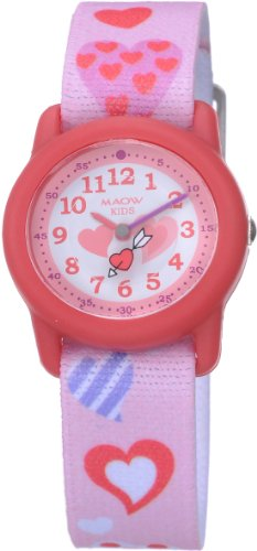 MAOW watch hearts for kids MK100-01