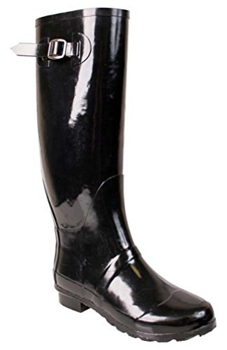 Conditions Riding Boot (Nomad Women's Hurricane Ii Rain Boot, Black, 10 M US)