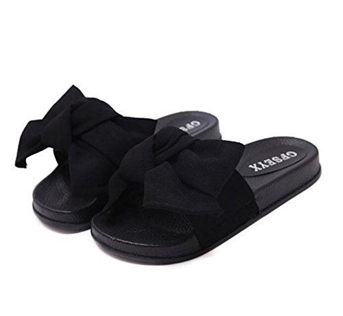 Arc Pantoufles Plage Mode Black Nouveau Sandale 41 Femmes Casual Tongs SHANGXIAN Été 1qxAnS