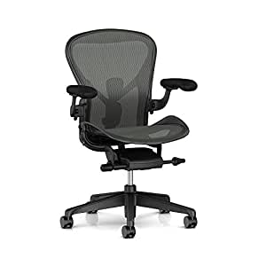 Herman Miller Aeron Chair V2 -Open Box -Size B Fully Loaded Posture Fit
