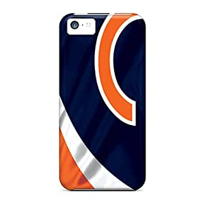Scratch Protection Hard Phone Covers For Iphone 5c With Provide Private Custom High Resolution Chicago Bears Skin DustinFrench