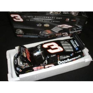 Action Racing GM Dealers Edition Dale Earnhardt #3 Daytona 500 10th Anniversary Car of Tomorrow COT Collectables 1/24 Limited Edition Only 3333 Made