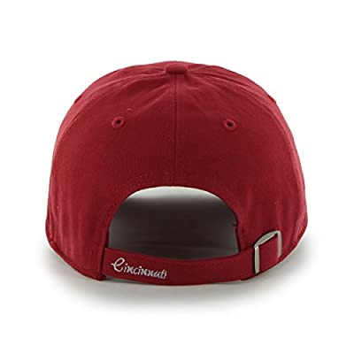 MLB Cincinnati Reds Women's Sparkle Clean Up Adjustable Hat, Red