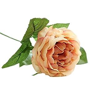 TOPMAX 10 Pcs Artificial Flowers Camellia Bouquet Party Romantic Vintage Decoration Garden 112