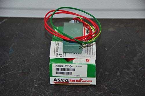 labtechsales Asco Red-Hat Valve 238610-032-D 120V/60 Hz Encapsulated Replacement Coil New NOS