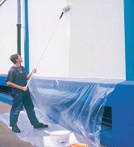I telo protettivo copertura per lavori di pittura Gieffe Telo copritutto in rotolo da Mt.4X25 totale 100 mq