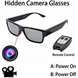 ViView Newest G2S 100% Hidden Camera Glasses Video Recording Gadgets Touch it-Free Your Hands for Training/Family/Adult/Travel Black