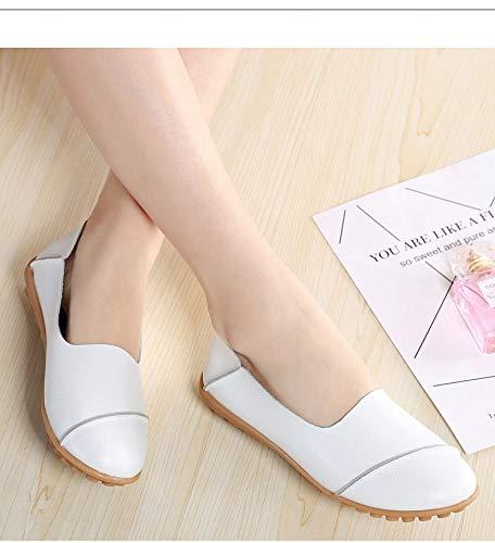 Qiusa Zapatos Zapatos Blanco Blanco Qiusa Blanco Zapatos Qiusa Zapatos Qiusa wXBOqrX