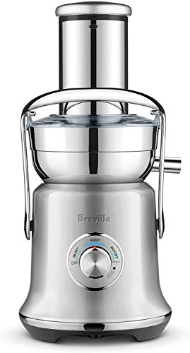 Breville BJE530BSS1BUS1 the Juice Fountain Cold Plus Countertop Centrifugal Juicer, 70 fl oz, Brushed Stainless Steel