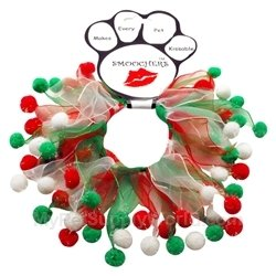 Mirage Pet Products Christmas Fuzzy Wuzzy Smoocher, small