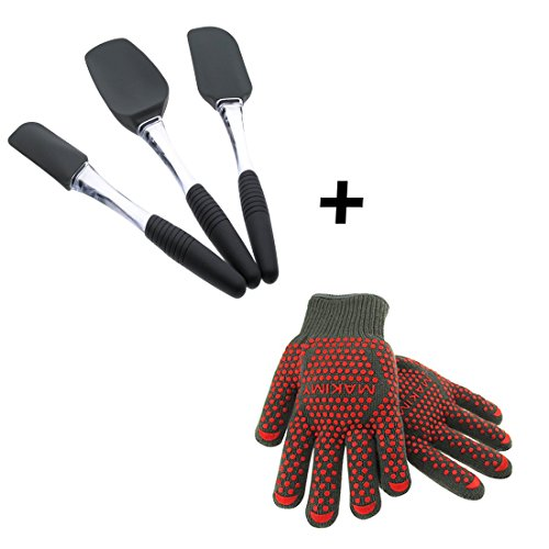 Makimy Spatula Set Oven Gloves product image